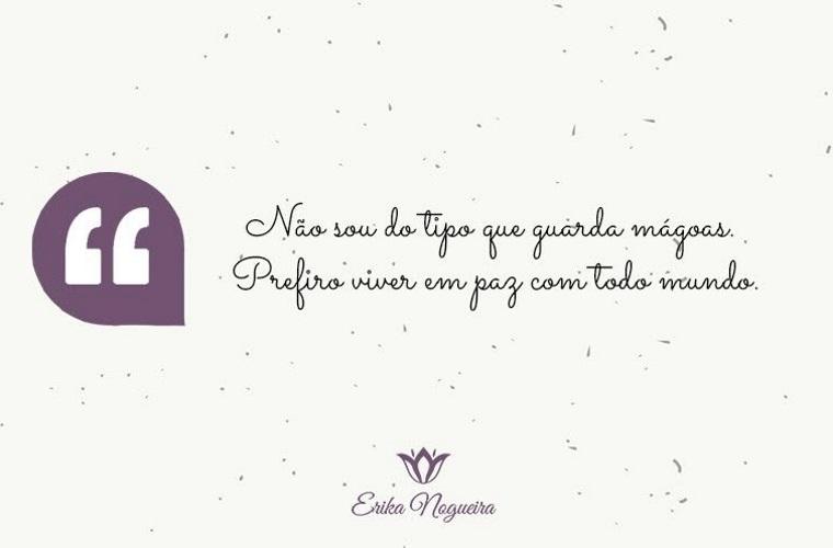 Érika Nogueira: Egoísmo temporário