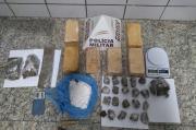 Polícia Militar aprende drogas no bairro CDI 2 em Sete Lagoas