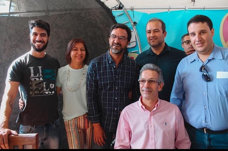 Filipe de Oliveira, Terezinha de Oliveira, Alcimar Francisco, Paulo Leao, Romeu Zema e Matheus Bastos