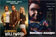 Era Uma Vez em...Hollywood e Brinquedo Assassino são as estreias da semana no Grupo Cine