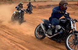 Já imaginou uma corrida de Harley?
