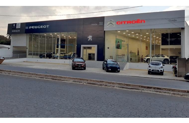 Sete Lagoas recebe a Triasa, concessionária Peugeot e Citroen