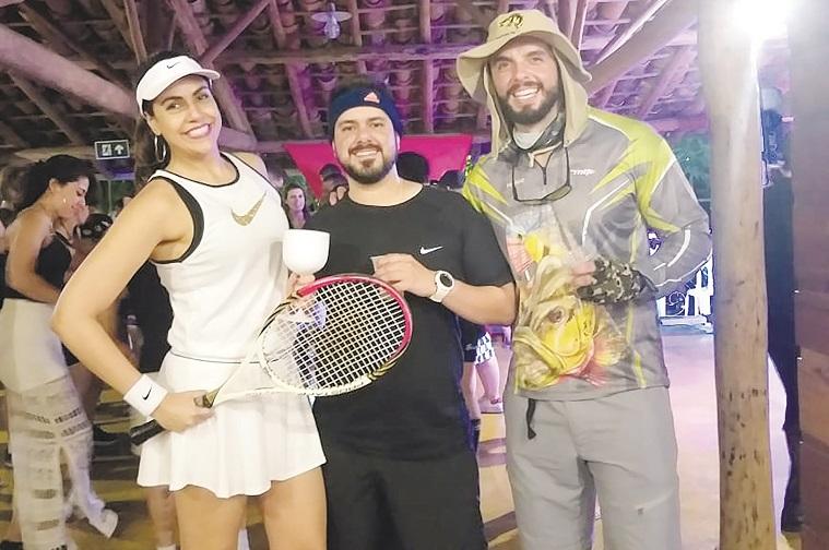 Lívia Ferrão, Flávio Mariz e Guilherme Ferrão