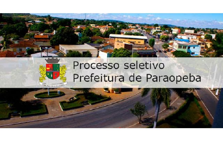 Paraopeba: prefeitura realiza processo seletivo para preencher vagas na Saúde