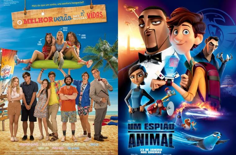 O Melhor Verão de Nossas Vidas e Um Espião Animal são as estreias da semana no Grupo Cine