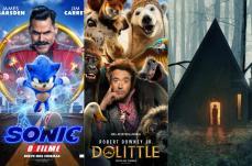 Sonic, Dolittle e Maria & João são as estreias da semana no Grupo Cine