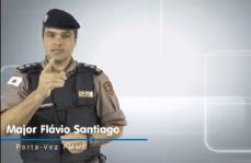 Polícia Militar pede população que fique em casa - veja vídeo