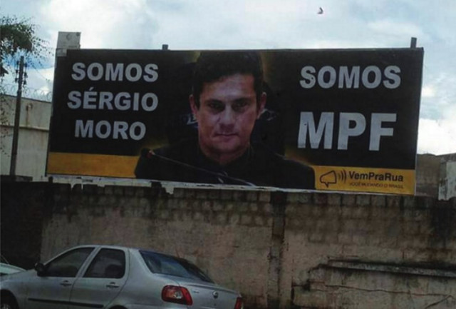 FLAGRANTE DIGITAL: Apoio a Sérgio Moro