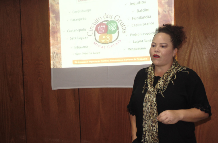 Adriana Ferreira, presidente do Circuito Turístico das Grutas