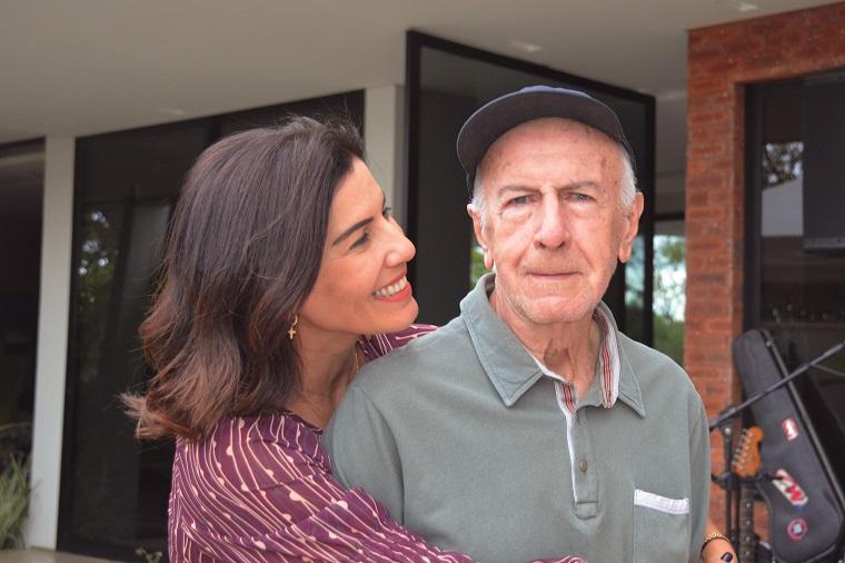 Zeca e seu pai José Pereira