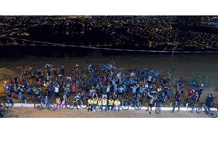 Pedalada para Serra abre a Semana Nacional do Trânsito em Sete Lagoas