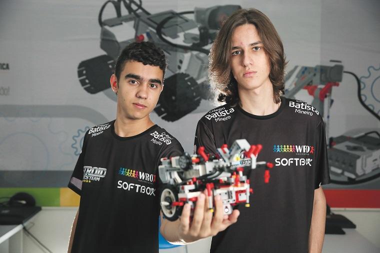 Equipe Metroid é campeão da WRO_ Colégio Batista Mineiro