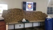 PM apreende 1,5 tonelada de maconha em Contagem: quatro suspeitos são presos