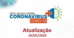 Cidade chega a 24 positivos com cinco pacientes internados com problemas respiratórios graves
