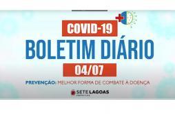 Quinto óbito é registrado em Sete Lagoas e mais 12 novos casos de Covid-19