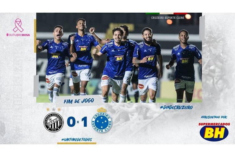 Fora de casa, Cruzeiro faz 1 a 0 com sabor de goleada, na estreia de Felipão