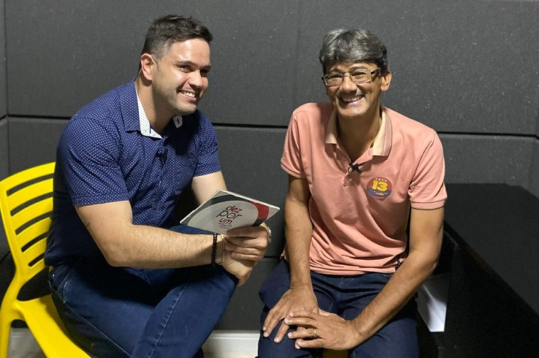 Dez minutos com o candidato  a prefeito Claudinei Dias
